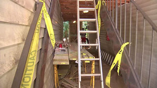 Residents still without permanent stairs weeks after apartment removed them