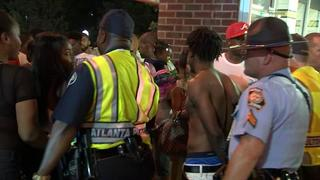 Several arrested when fight breaks out at downtown fireworks celebration