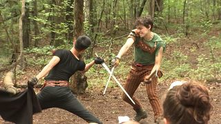 Robin Hood steals the show at Serenbe