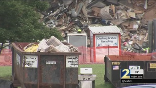 Shortage of landfill drivers creates mountain of garbage