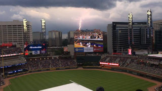 Braves have more rain delays than any team in MLB