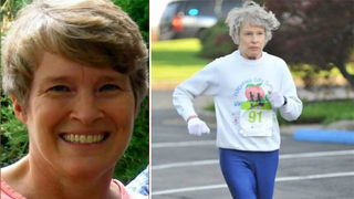 66-year-old runner hit by police car has died