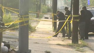 Police search for gunman who shot woman, Uber driver