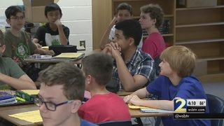 Cobb County superintendent tours schools on first day