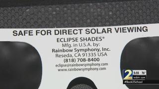 BEWARE: Doctors warn of fake eclipse glasses