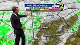 Rain chances to increase throughout Monday evening