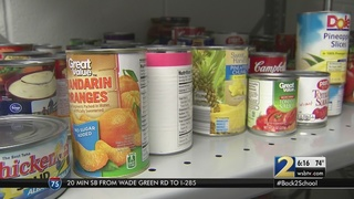 This pantry will feed students who don