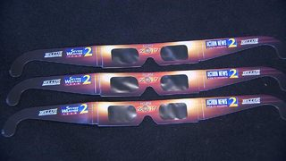 With the solar eclipse just days away, viewing glasses are in short supply