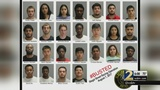 25 arrested in illegal street racing bust
