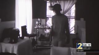 Surveillance video shows serial burglar casing homes, police say