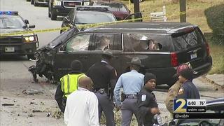 Dash cam video shows chase that killed woman, 2 grandchildren