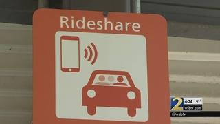 Ride-sharing pickup locations temporarily changing at Hartsfield-Jackson