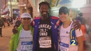 Former homeless veterans prepares for Chicago Marathon