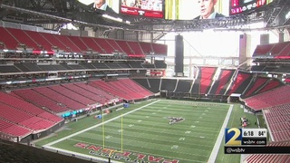 Mercedes-Benz Stadium sets records with historic technology