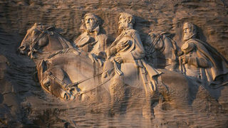 Candidate for governor calls for removal of Stone Mountain carving