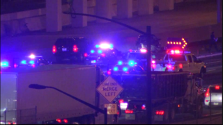 1 killed in crash on downtown connector