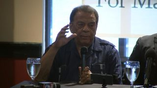 Civil rights icon Andrew Young addresses Charlottesville violence