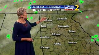 Mainly dry Thursday morning ahead