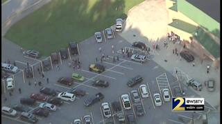 Lithia Springs High employee flown to hospital after 'gun-related injury