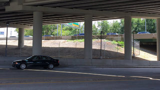 3 months later, fence put up around I-85 collapse site