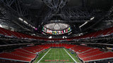 Atlanta Falcons and Atlanta United season ticket holders got their first look inside Mercedes-Benz Stadium.