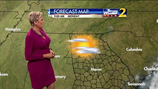 Fairly sunny for eclipse day, but some clouds possible