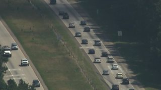 Georgia drivers clog roads heading home after watching eclipse