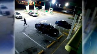 Video shows shooting, attempted robbery at DeKalb County gas station