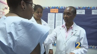 Health fair offers free screenings in Clayton County