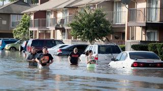 Tropical Storm Harvey makes landfall again in Louisiana