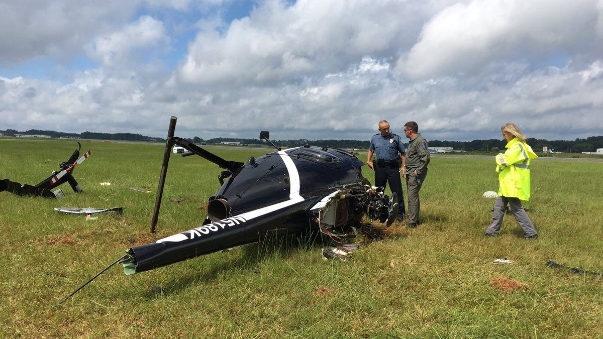 gwinnett county police helicopter crashes wsb tv