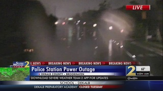 Police Department in Brookhaven without power