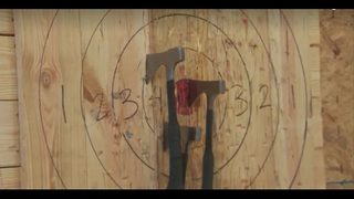 Throw axes at Bad Axe Throwing Atlanta
