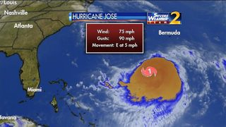 Will Hurricane Jose have any impact in north Georgia?