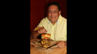 Triple Triple Cheeseburger Challenge