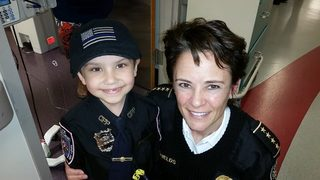 Georgia girl, made honorary APD officer, dies after yearslong battle with cancer