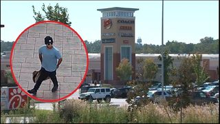 Suspected gang members assault man at outlet mall, police say