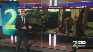 Crews work to fix watermain break that forced several businesses to close