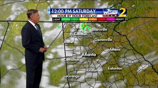 Partly cloudy start to your Saturday morning