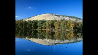Best spot to see changing leaves at Stone Mountain