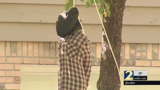 Hanging noose Halloween display angers residents