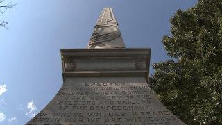 Dozens debate the future of Confederate monument in Decatur Square