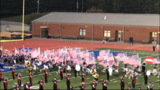 """A North Georgia high school football team ran out onto the field carrying American flags in what the school superintendent is calling a """"unifying moment."""""""