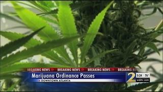 Legislation that lessens penalties for pot passes unanimously