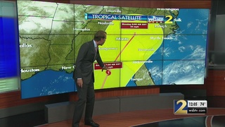 Newly-formed tropical depression expected to impact Georgia