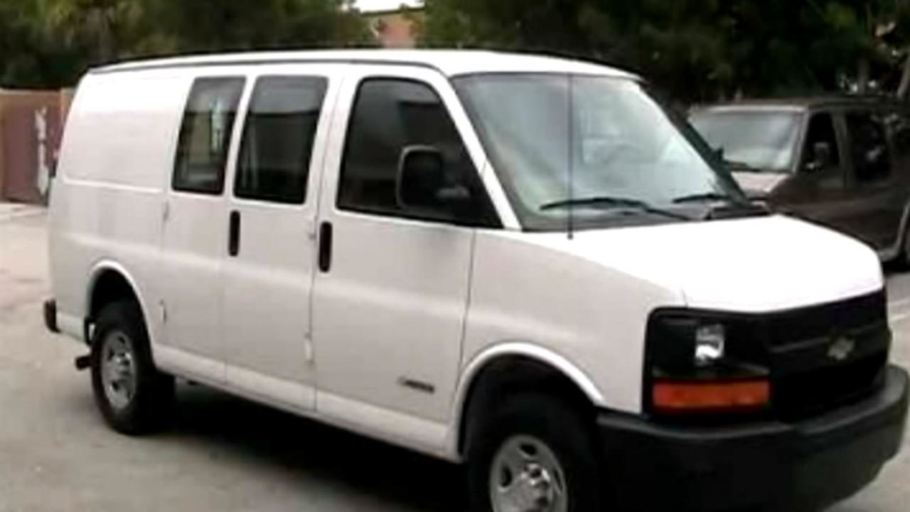 Van Used To Transport Flowers Stolen From Funeral Home During