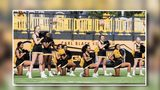 Channel 2 Action News obtained video taken at a football game on September 30 showing part of the squad kneeling during the national anthem.