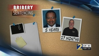 Contractors in City Hall bribery scandal sentenced