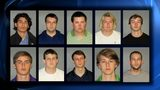 Mugshots released of 10 fraternity brothers accused in the hazing death of Roswell native Max Gruver