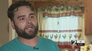 Man says investigator shot dog after showing up at wrong house